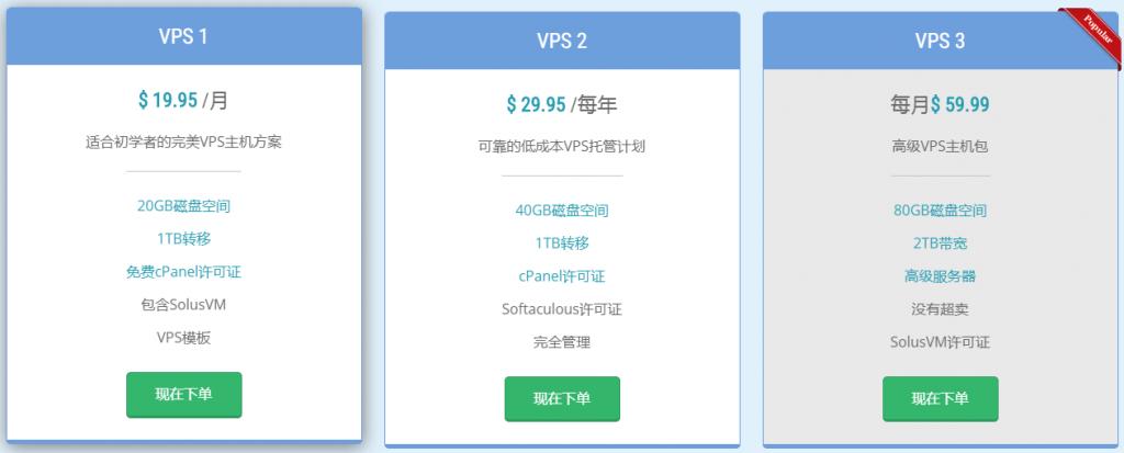 免费试用vps:网络服务商hostica,免费试用30天,无条件退款