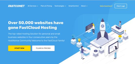 fastcloud:高配vps/G口/ssd/7天免费试用