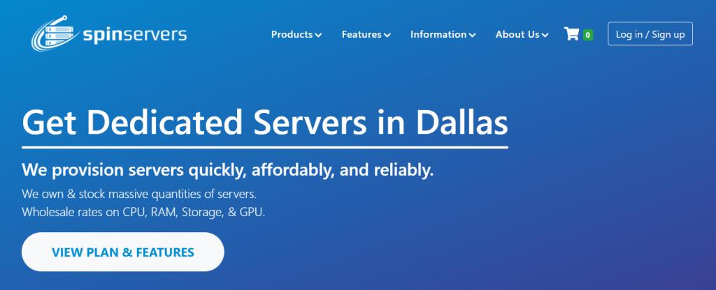 Spinservers 10GB带宽,高配置服务器促销优惠,附优惠码